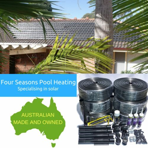 41M2 SOLAR ROOF KIT DIY SWIMMING POOLSPA 12 TUBE SOLAR HEATINGHEATER BRAND NEW