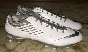 online retailer 53ad5 afd84 Image is loading NIKE-Vapor-Speed-LAX-Molded-TD-White-Grey-