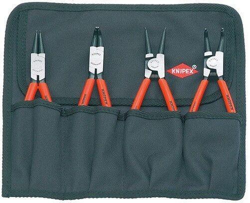 Knipex 001956 Set von Sicherungsring Haltering Zange Sets, 4-tlg.