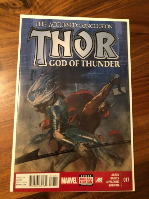 Thor God of Thunder #17 The Accursed Conclusion Marvel 2014 Jason Aaron NM