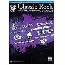 Classic Rock Instrumental Solos for Strings: Cello (Book & CD), Staff, Alfred Pu