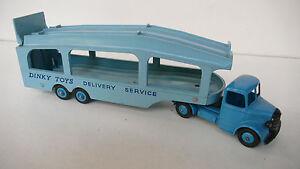 Dinky Supertoys Gb Bedford Pullmore Car Transporteur Ref 982 53/64 Super État