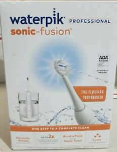 Waterpik-Sonic-Fusion-Professional-Toothbrush-And-Water-Flosser-White