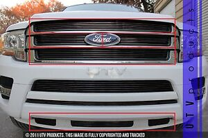 GTG 2015 - 2017 Ford Expedition 7PC Gloss Black Combo ...