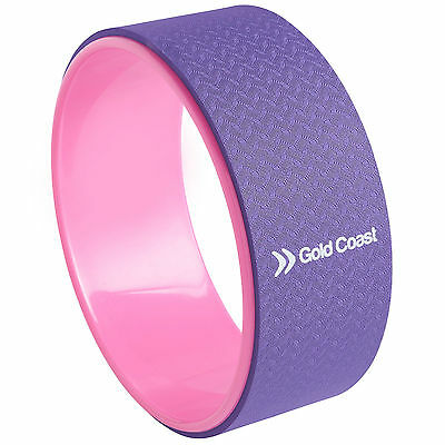 Gold Coast Exercise Yoga Wheel Back Bend Inversion Stretch Pilates Roller