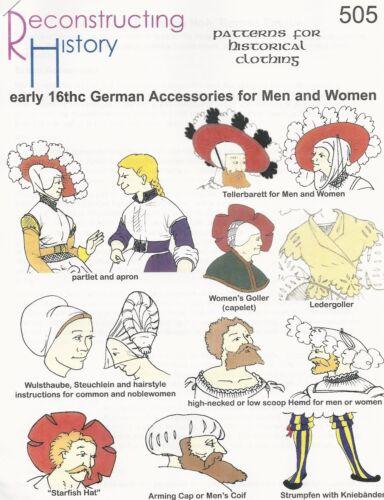 German Accessories Motifs de coupe rh 505