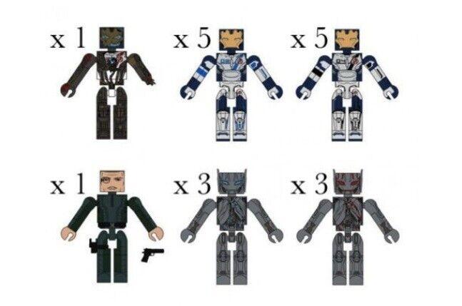 Avengers 2 Age of Ultron Marvel Minimates Set of 18 Diamond Select
