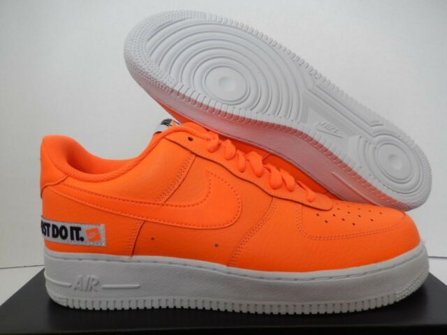 52895da009bd Men s Nike Air Force One 1  07 Low JDI Just Do It Total Orange Sz 11 Bq5360- 800
