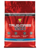 Bsn True Mass 1200 Weight Gainer 4.7kg Vanilla Flavour Free P&p