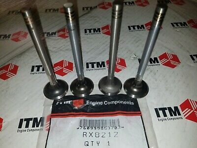 2 VW Beetle Fastback Karmann Ghia Super Beetle Transporter Engine Exhaust Valve