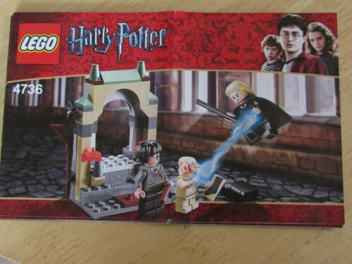 LEGO Harry Potter Set 4736  Instruction Manual Only Rare