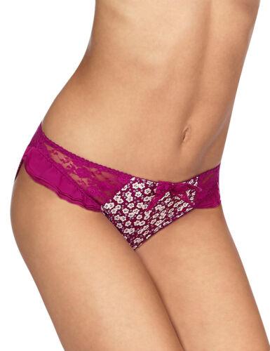 Femmes M /& S TAILLE 10 HELANKA Bikini Slips Culottes Slips Magenta