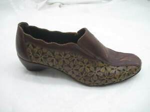Pikolinos-36-5M-brown-floral-flats-wedges-womens-ladies-loafers-shoes