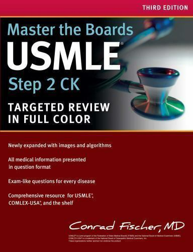 Master the Boards: USMLE Step 2 CK by Conrad Fischer (2015, Paperback) for  sale online | eBay