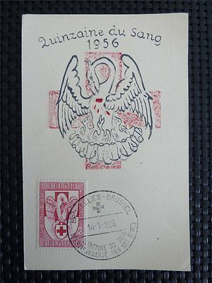 Stamps Maxi Cards Conscientious Belgien Mk 1956 Rotes Kreuz Red Cross Maximumkarte Carte Maximum Card Mc C3940 Handsome Appearance
