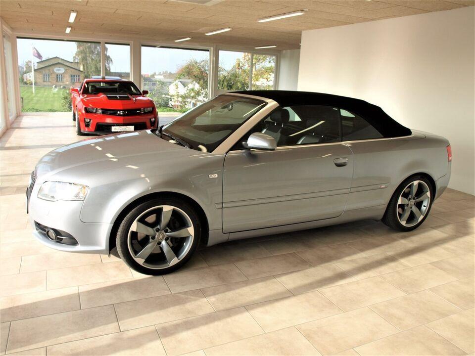 Audi A4 3,2 FSi quattro Cabriolet Benzin modelår 2007 km