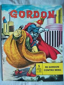Alex Raymond - Gordon nr 5 - Re Gordon contro Ming - F.lli Spada 1977 - Italia - Alex Raymond - Gordon nr 5 - Re Gordon contro Ming - F.lli Spada 1977 - Italia