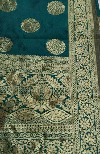 Damen tuch Dupatta Indische Traditionelle Gestohlen Seide Scraves Chunni Odhani