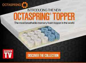 mattress topper as seen on tv DORMEO OCTASPRING BODY ZONE MATTRESS TOPPER   AS SEEN ON TV   5 YR  mattress topper as seen on tv