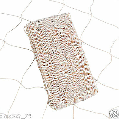 LUAU Tiki Beach Pool Party Decoration FISH NET Netting Natural BEIGE 5ft x 14ft