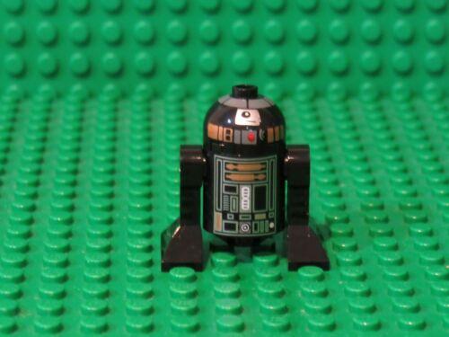 R2-Q5 Black Astromech Droid 6211 Star Wars LEGO Minifigure Figure minifig DR62