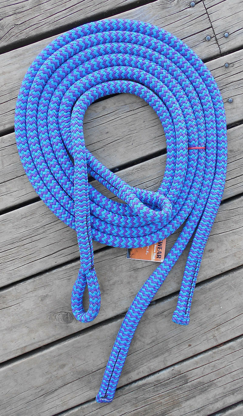 6FT SPLIT REINS with  LOOPS -Professionally Made- 17 colours available  wholesale price