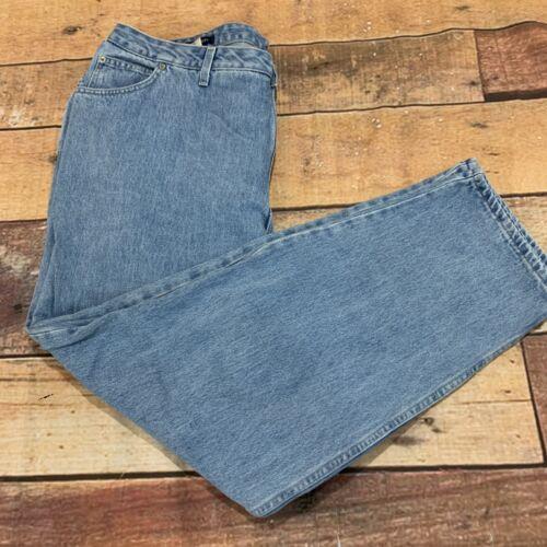 Lands End Womens Plus Size Jeans Size 22W Light Wash