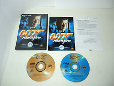 007 NIGHTFIRE complete PC game boxed with manual in original case
