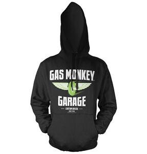 Garage Wheels Monkey Speed S Sizes Licensed Officially Black xxl Gas Hoodie qX1xt