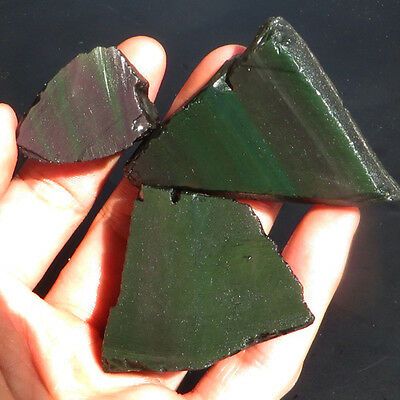 Nachdenklich Top Rainbow Obsidian : 253,69 Ct Natürlicher Obsidian Regenbogen Aus Mexiko Weich Und Leicht