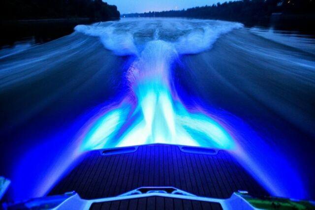 "BOAT DRAIN PLUG LIGHT BTY 1200 LUMENS UNDER WATER FISHING 1/2"" NPT LED LIGHT"
