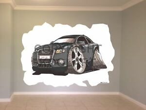 Huge-Koolart-Cartoon-Audi-A5-Wall-Sticker-Poster-Mural-2308