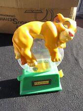 VINTAGE 1993-1994 WALT DISNEY THE LION KING SIMBA SLEEPING GUM BALL MACHINE BANK