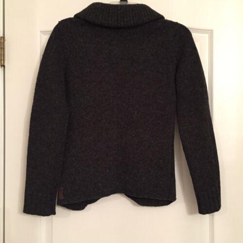 lana Xs Cardigan Armkei 100 scuro grigio Maglione donna taglia q61txRROw
