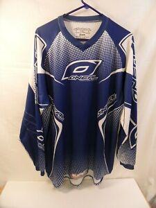 Oneal Element Blue Motocross Jersey Shirt Mens Large