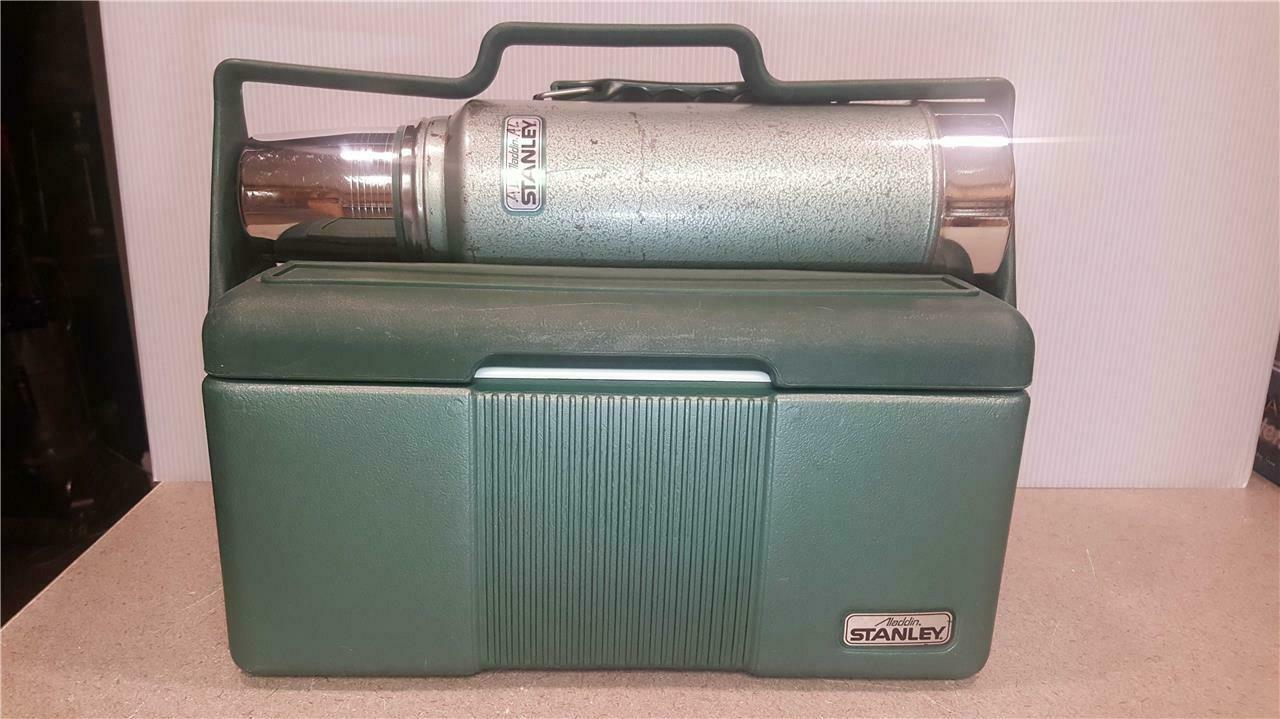 Stanley Aladdin Work Lunchbox Insulated Cooler Thermos Bottle COMBO Set NASHVILL