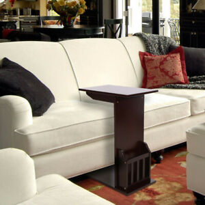 Remarkable Details About L Shaped Coffee Tray Sofa Side End Table Lap Stand Tv Snack Ottoman Couch Room Gmtry Best Dining Table And Chair Ideas Images Gmtryco