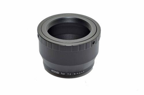 Kood t2 Mount per Nikon 1 Corpo Adattatore t2-Nikon 1