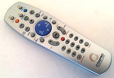 Original Compro Technology Remote Control For Compro VideoMate DVB T300 More