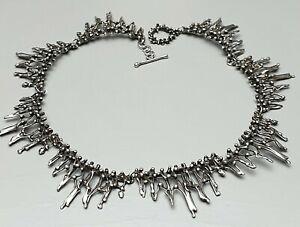 Traumschoenes-800-Silber-Collier-Handarbeit-60er-80er-Jahre-39-5-cm-lang-A430