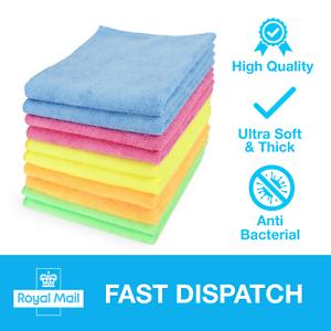 Premium-Microfibre-Cleaning-Cloths-Dusters-Polish-Towels-Home-Kitchen-Car