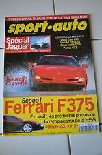 SPORT AUTO n°421 Février 1997* SPECIAL JAGUAR FERRARI 375 LOTUS ESPRIT GT3
