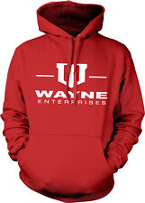 Wayne Enterprises Bruce Dark Knight Batman Gotham Hoodie Pullover Sweatshirt