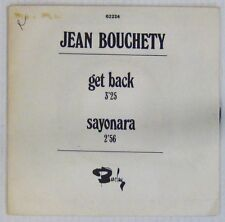 Interprètes Beatles 45 tours Jean Bouchety Get Back BARCLAY