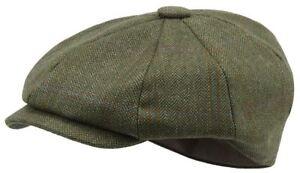 a1b64e8d Schoffel Newsboy Cap - Sandringham Tweed | eBay