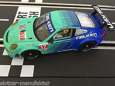 """Carrera Evolution 27429 PORSCHE GT3 RSR """"TEAM FALKEN, NO.17"""",NEU + Ersatzspiegel"""