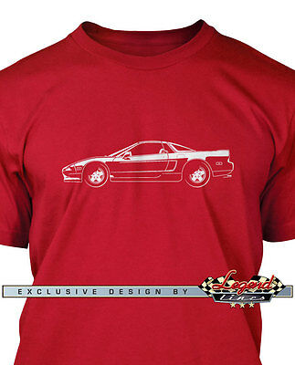 Japanese Car Multiple Colors /& Sizes Acura NSX 1990 Top Off T-Shirt for Men