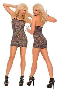 a8e7fd29f6a Image is loading Sexy-Micro-Mini-Stripper-Dress-Lingerie-Nightwear-Sheer-