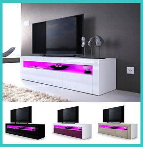 Design Tv Meubel Hoogglans.Details Over Tv Meubel Hoogglans Hout Televisie Meubel Design Woonkamer Salontafel Lowboard