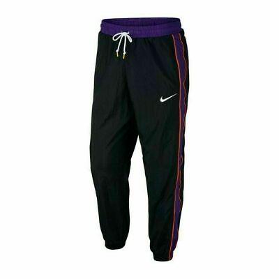 Nike Throwback Woven Full Zip Jacket Black Purple Orange AV6650-011 Men/'s XL